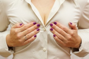 woman with breast implants chicago loves